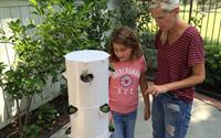 Dr Rockey Makes House Call to Build a Tower Garden