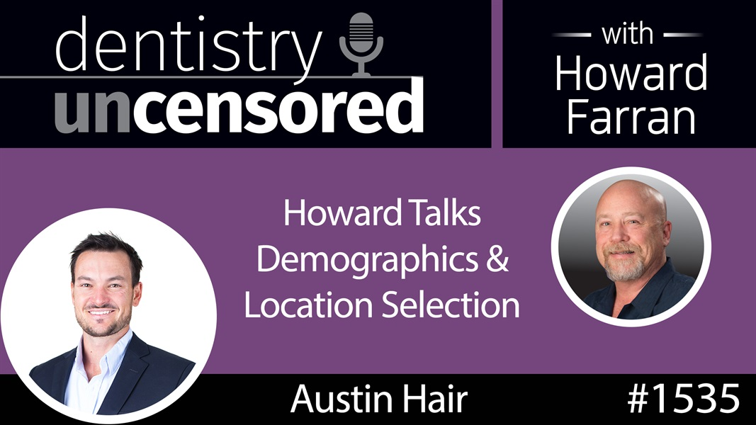 1535 Howard Talks Demographics & Location Selection on the Real Estate Secrets Podcast with Austin Hair