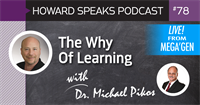 The Why Of Learning with Dr. Michael Pikos : Howard Speaks Podcast #78