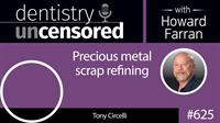 625 Precious metal scrap refining