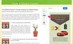 Growth Hacking Your Content Marketing Program… Take Your Blog to the Top of Google SERP's and Generate MORE Quality New Patients Each Month!