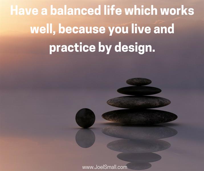 Balance and Making Time