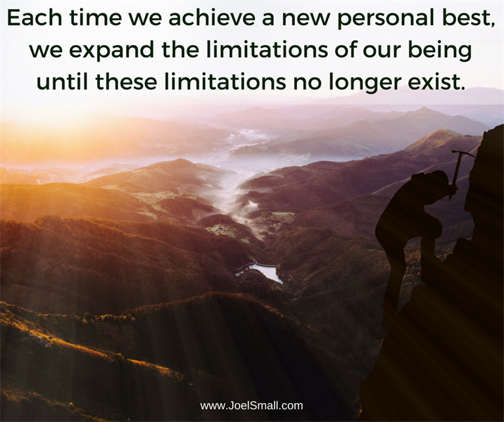 """Achieve a """"Personal Best"""" by Expanding Your Comfort Zone"""