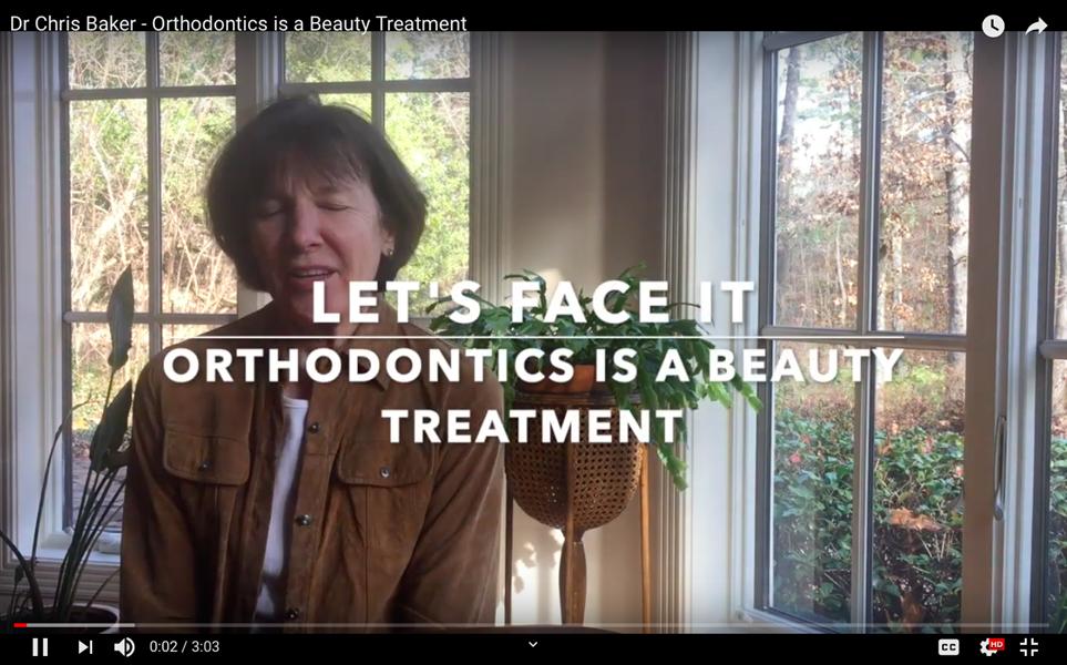 Let's Face It: Orthodontics is a beauty treatment