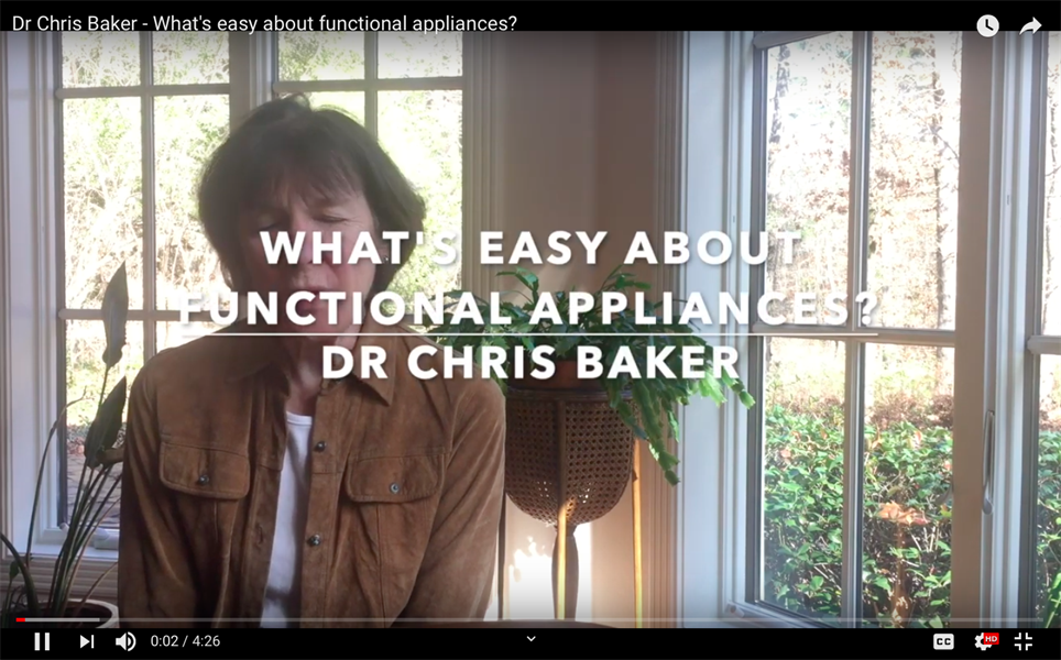 What's Easy About Functional Appliances?