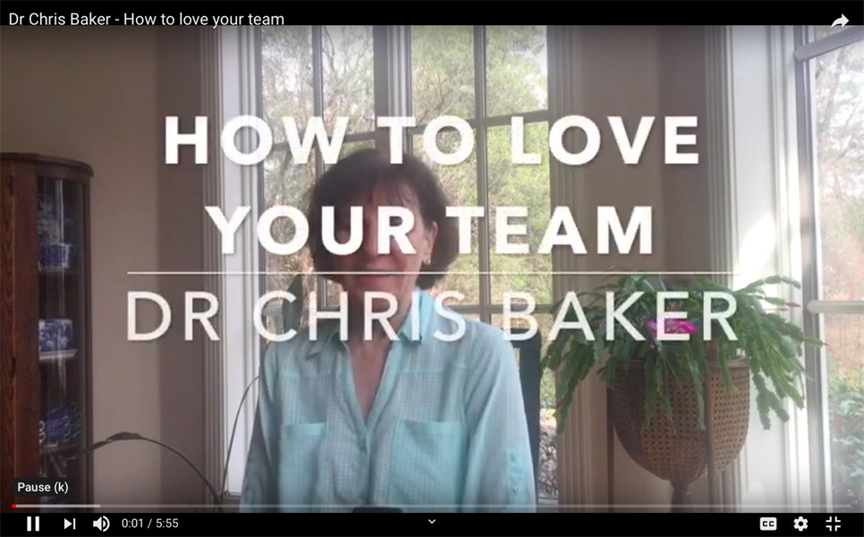 How to LOVE your team