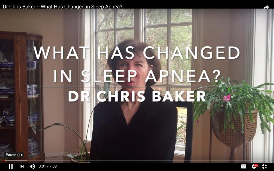 What Has Changed in Sleep Apnea?