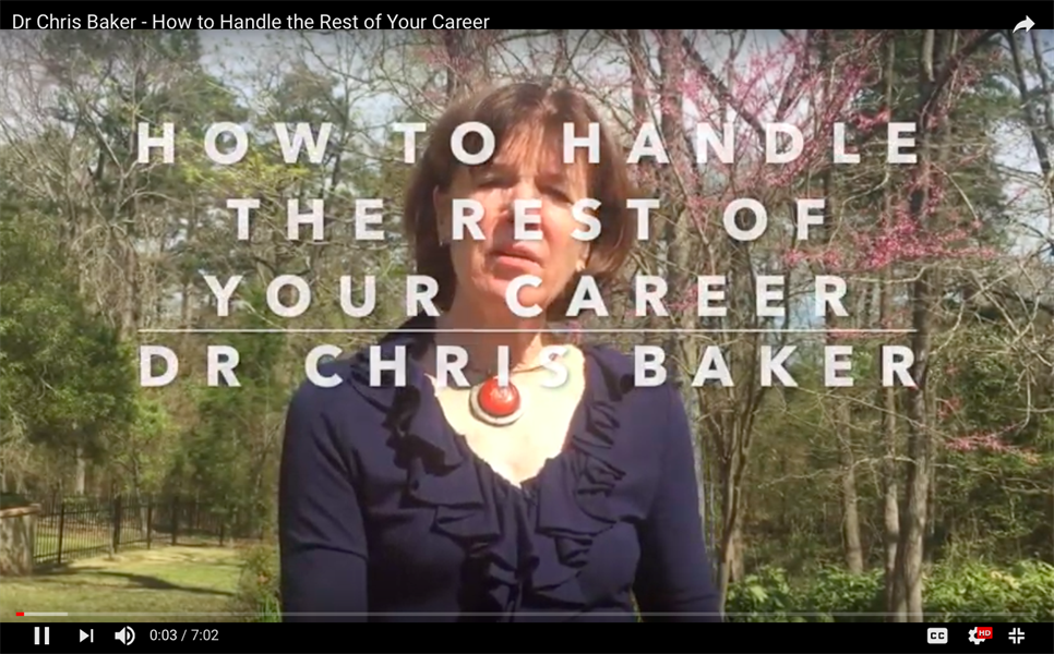 How to Handle the Rest of Your Career