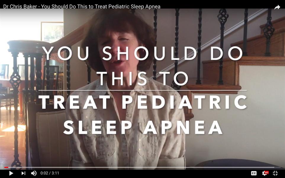 You Should Do This To Treat Pediatric Sleep Apnea