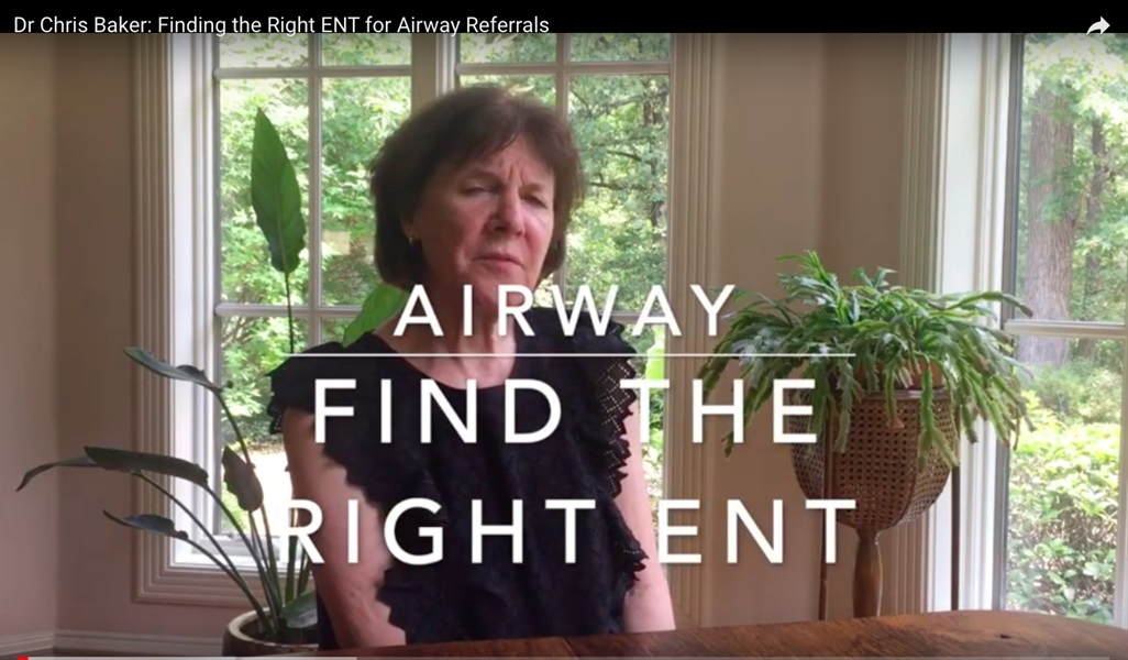 Finding the Right ENT for Airway Referrals