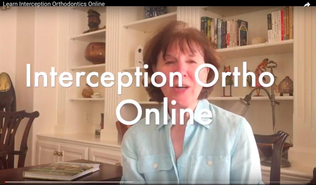Interception Orthodontics Online