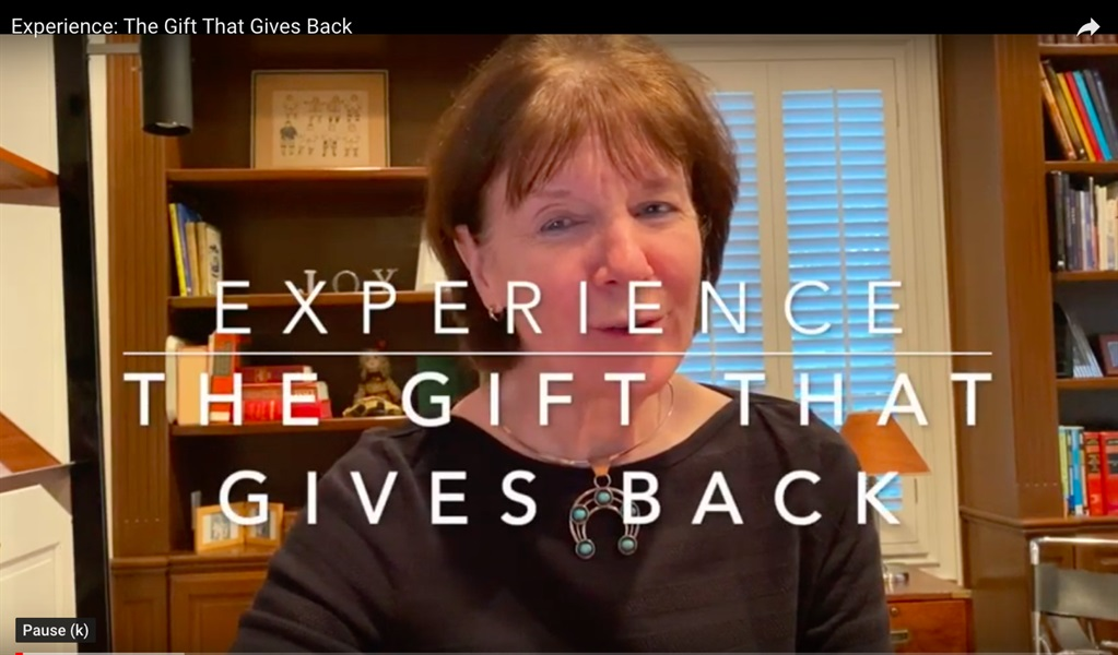 Experience: The Gift That Gives Back