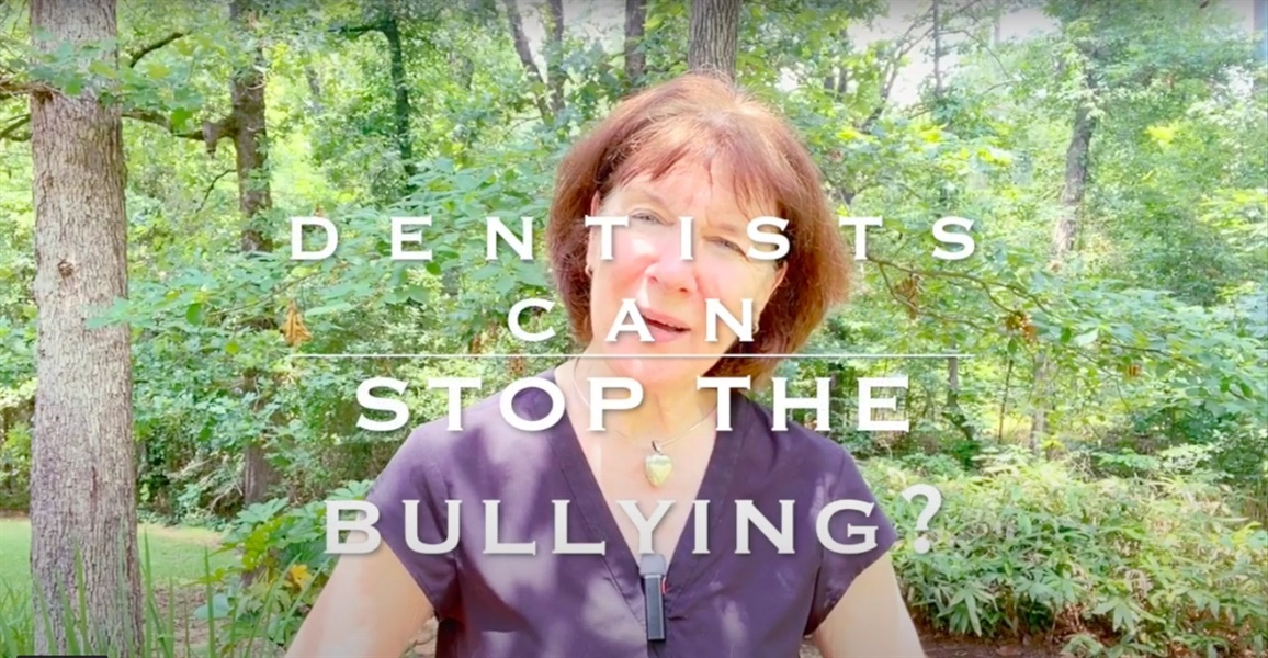Dentists Can Stop the Bullying?