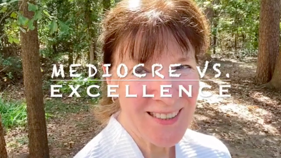 Mediocrity vs. Excellence