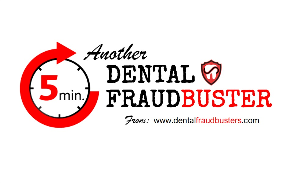 Dental FraudBuster 003 • What reports to ask for and keep off-site.