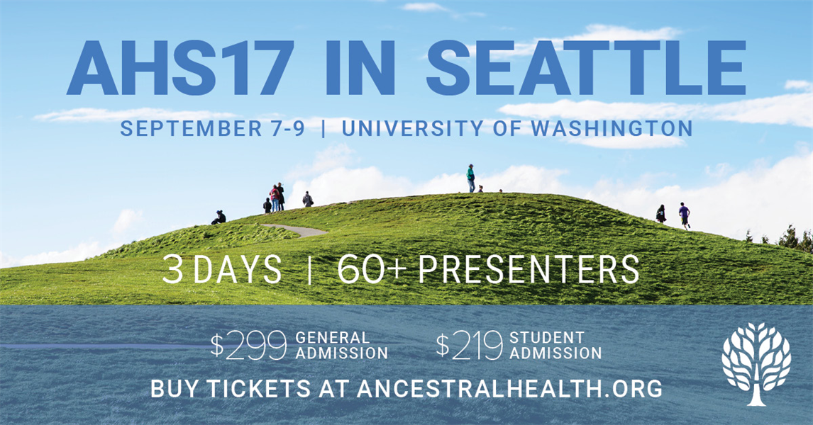Dental Panel at the Ancestral Health Symposium (AHS) 2017