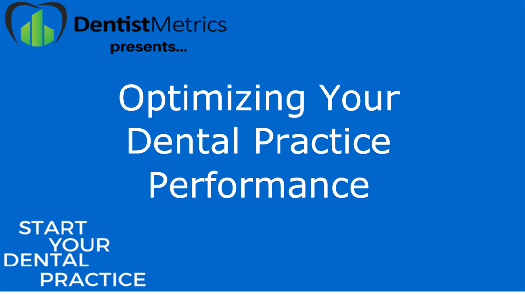 Optimizing Your Dental Practice Performance With Kiera Dent