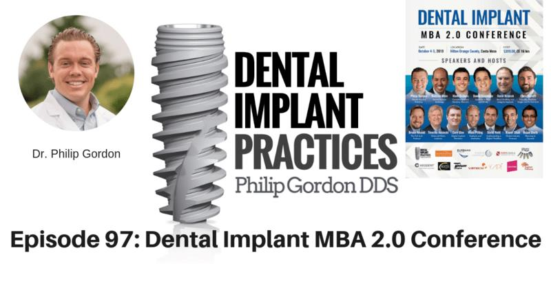 097 DENTAL IMPLANT MBA 2.0 CONFERENCE
