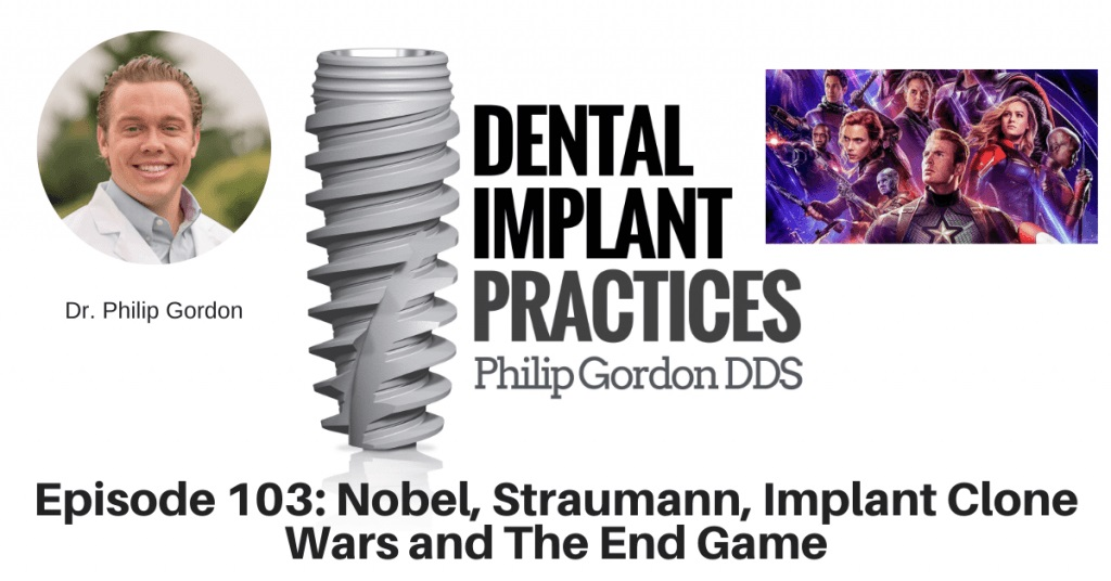 103 Nobel, Straumann, Implant Clone Wars and The End Game