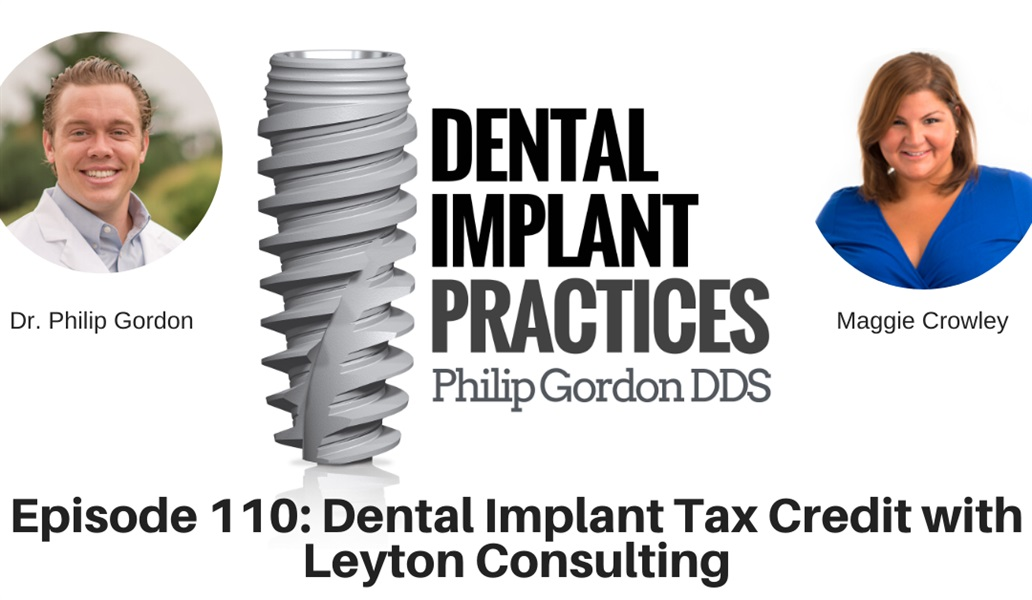110 Dental Implant Tax Credit with Leyton Consulting