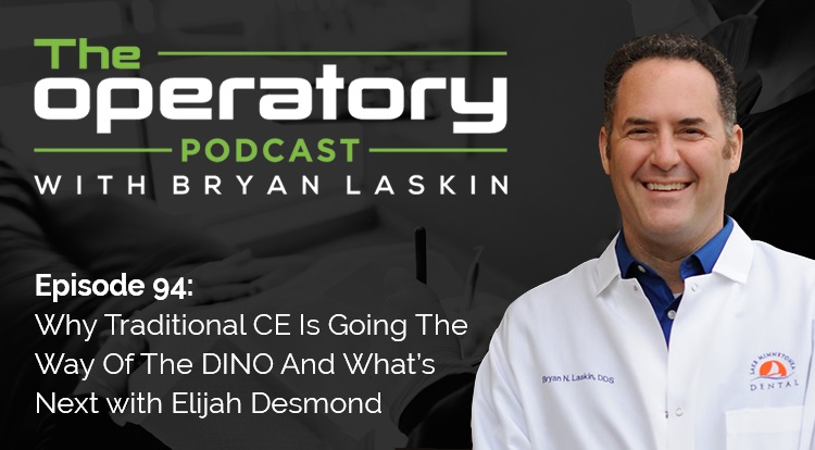 Episode 94: Why Traditional CE Is Going The Way Of The DINO And What's Next with Elijah Desmond