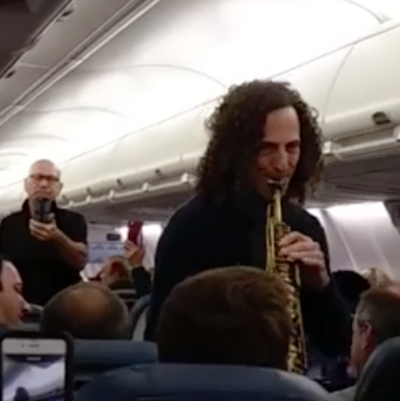 Episode #47 - Important wellness design lessons from Kenny G.'s impromptu serenade in the sky