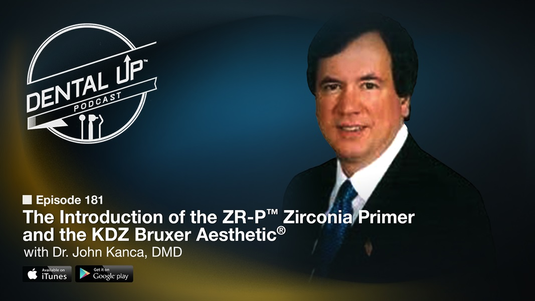 The Introduction of the ZR-P™ Zirconia Primer and the KDZ Bruxer Aesthetic® with Dr. John Kanca, DMD
