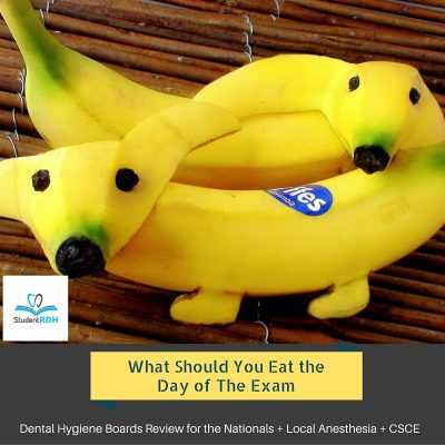 What Should You Eat the Day of the Exam?