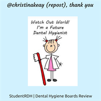 Cutest dental hygienists in the making! Keep up the amazing work!