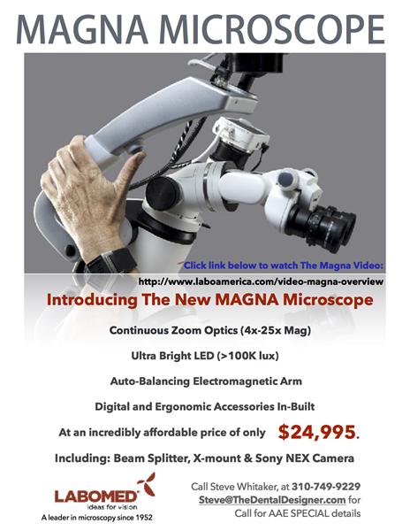 DENTAL MICROSCOPE MAGNA call 310-749-9229.