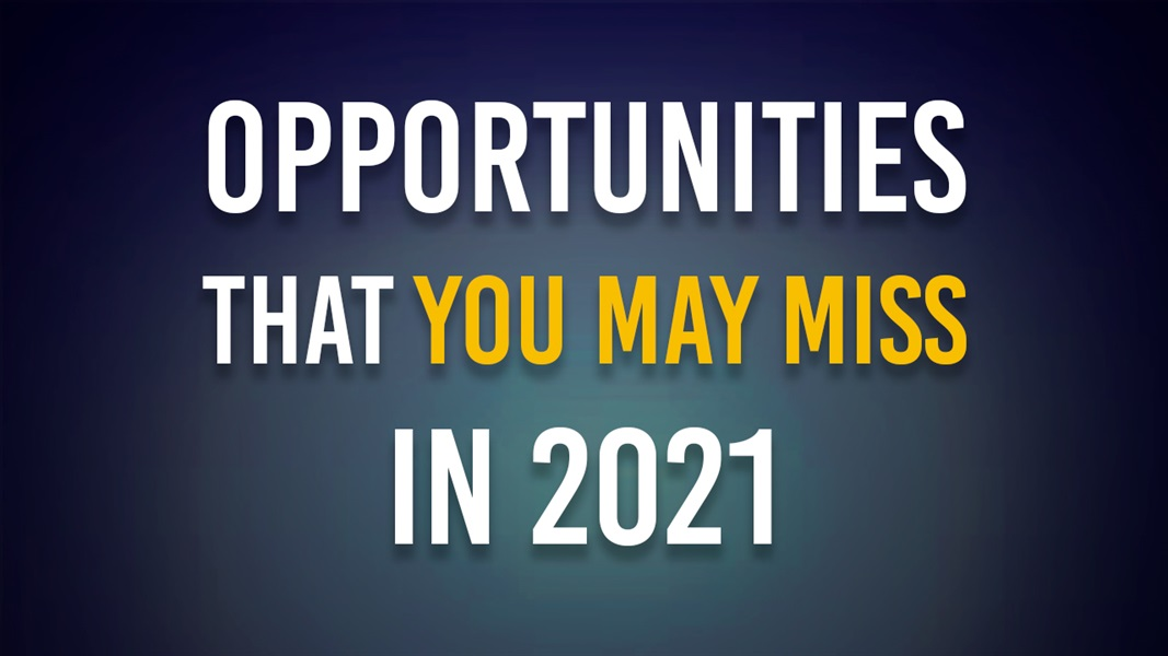 Opportunities That You May MISS in 2021: How to Make a Profit From the Internet?