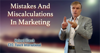Mistakes And Miscalculations In Marketing