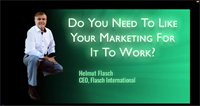 Do You Need To Like Your Marketing