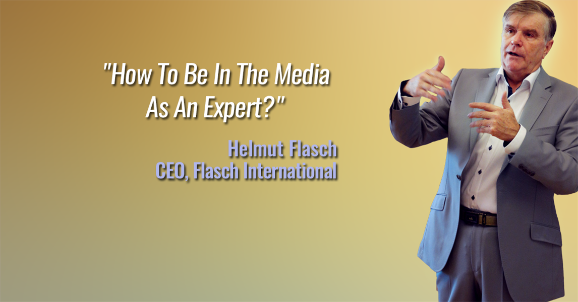 How To Be In The Media As An Expert?
