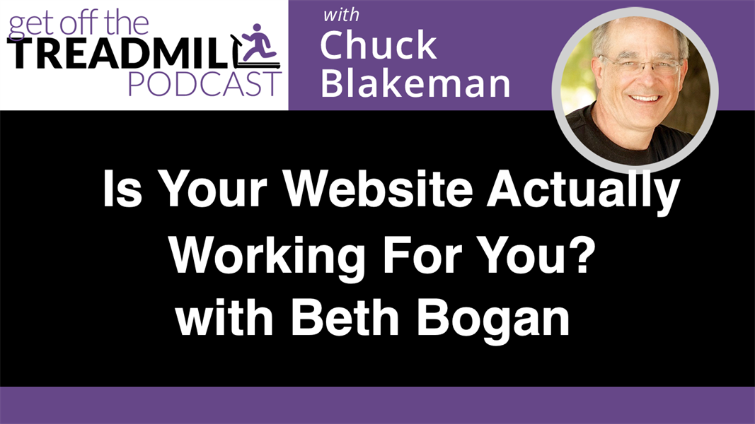 Is Your Website Actually Working For You? With Beth Bogan