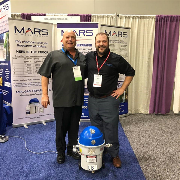 M.A.R.S Bio-Med had a Celebrity Visitor at the Ohio Dental Association