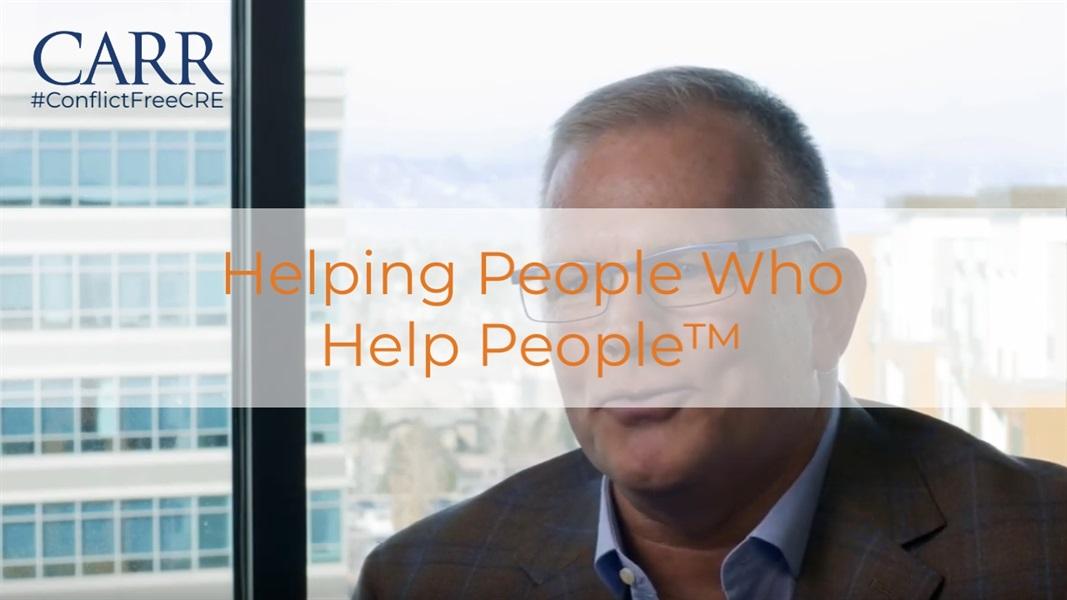 Helping People Who Help People™