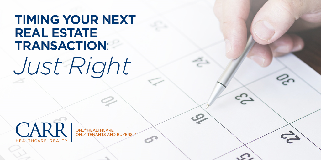 Timing Your Next Real Estate Transaction - Part 3: Just Right