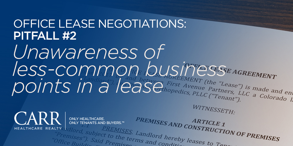 Office Lease Negotiations: 3 Pitfalls to Avoid | Part 2