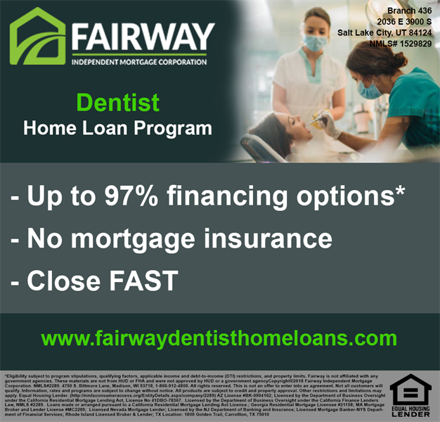 Have You Considered A Dentist Home Loan?