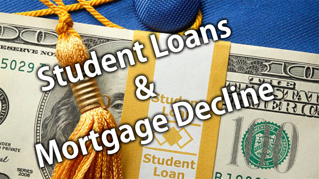 Student Loan Debt & Mortgage Decline