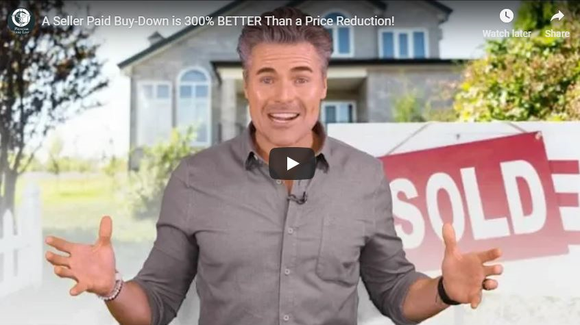 A Seller Paid Buy-Down is 300% BETTER Than a Price Reduction!