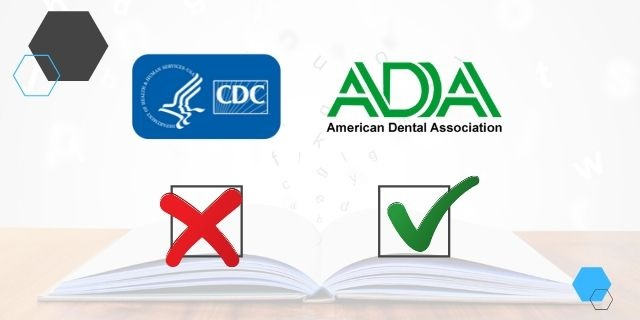 CDC Removes Dental Aerosol Patient Wait Time - ADA Counters