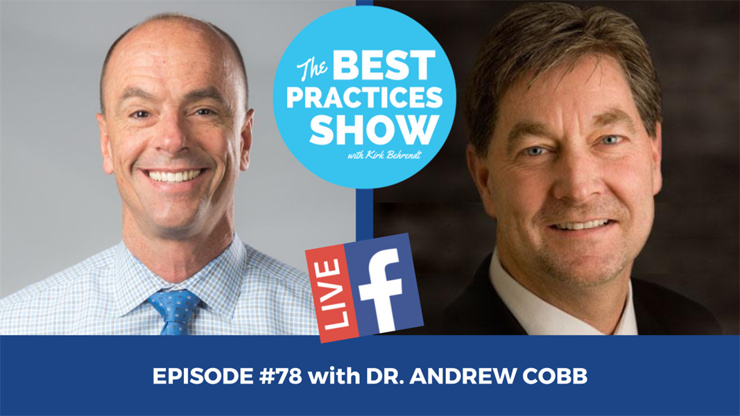 Episode #78 - A Guaranteed Way to Build Patient Trust-The Exam and Records Process with Dr. Andrew Cobb