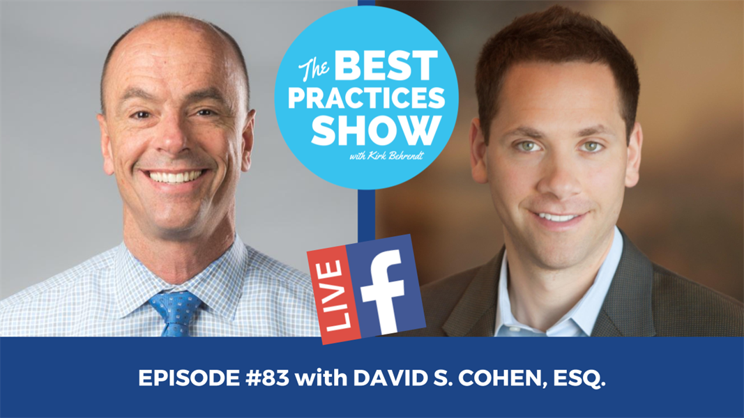Episode #83 - The New Trend of Hybrid Associate Agreements with David S. Cohen, Esq.