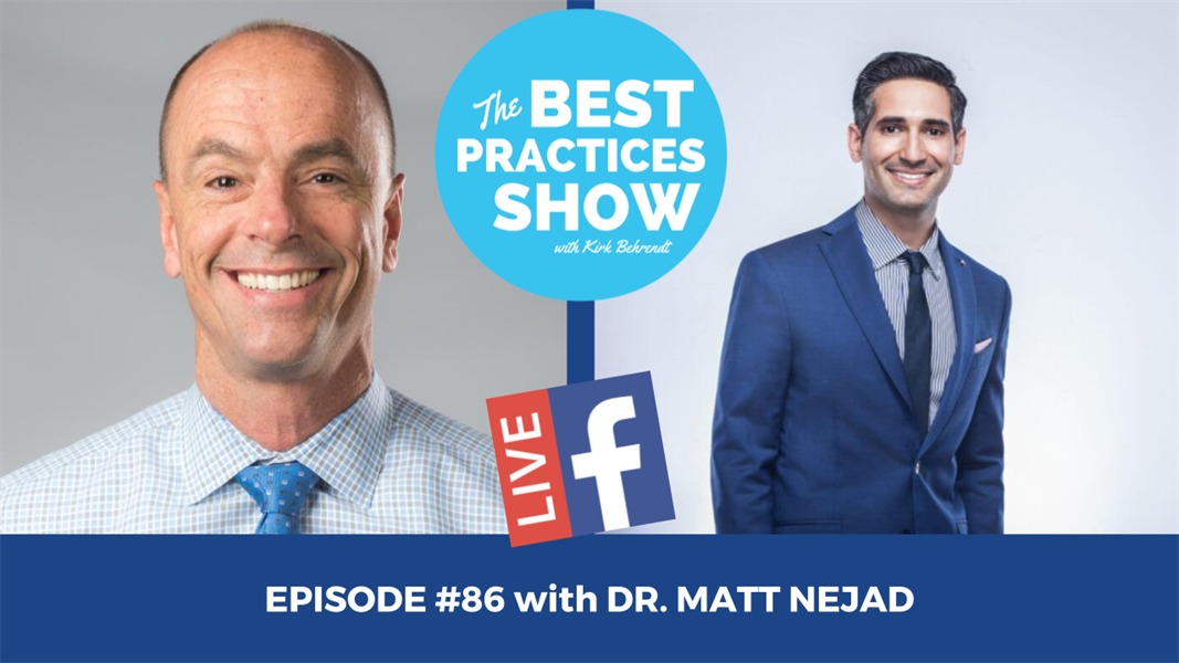 Episode # 86 - A Key Technique to Increasing Your Bond Strength with Dr. Matt Nejad