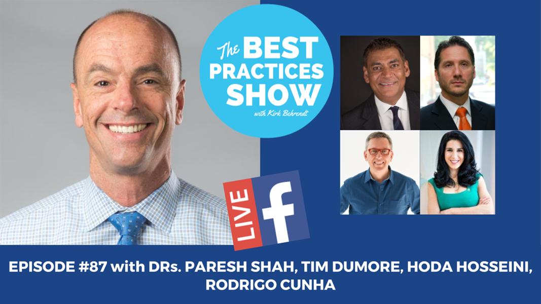 Episode #87 - Superdentists: Dead or Alive??? with Team Winnepeg Progressive Dental Club - Dr. Paresh Shah, Dr. Tim Dumore, Dr. Hoda Hosseini, Dr. Rodrigo Cuhna