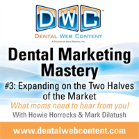 Dental Marketing Mastery Episode 3: What Moms Need to Hear from You!