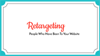 If You're Not Retargeting WEBSITE Visitors, You're Missing Out On 100's of NEW PATIENTS!