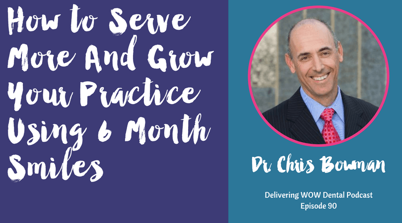 How to Serve More And Grow Your Practice Using 6 Month Smiles With Dr. Chris Bowman